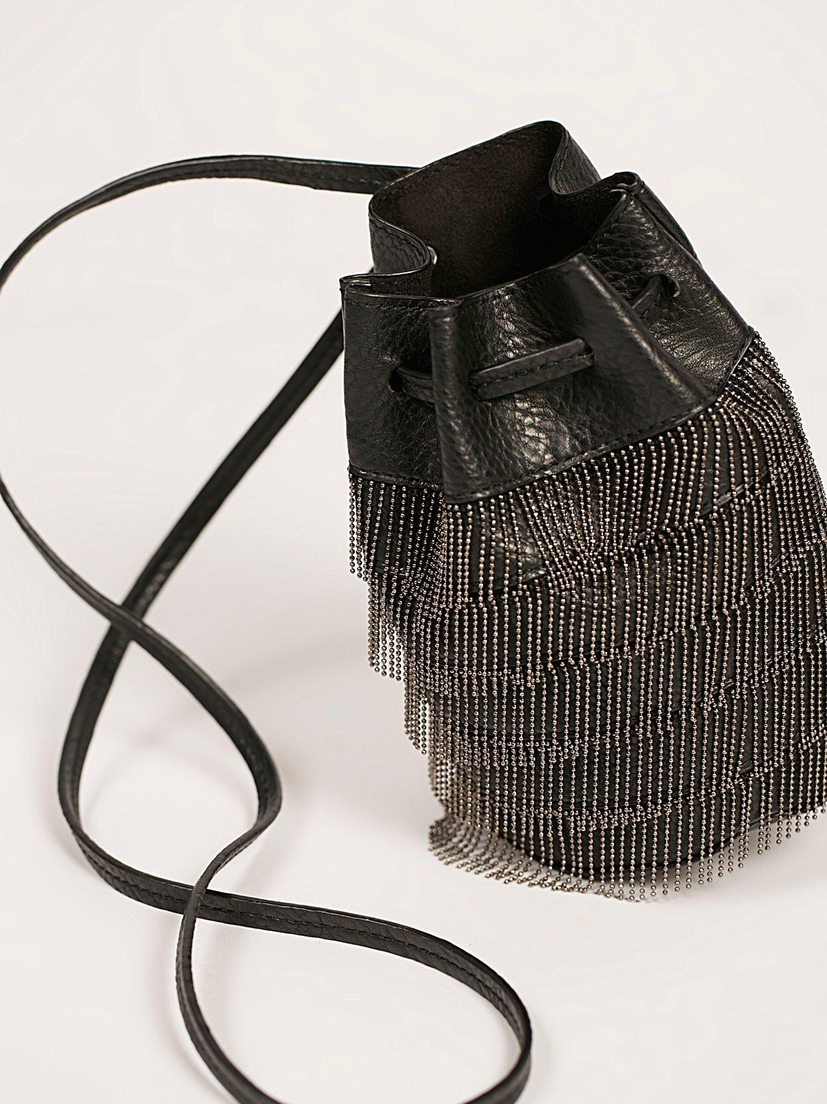 Bardot Fringe Mini Bucket