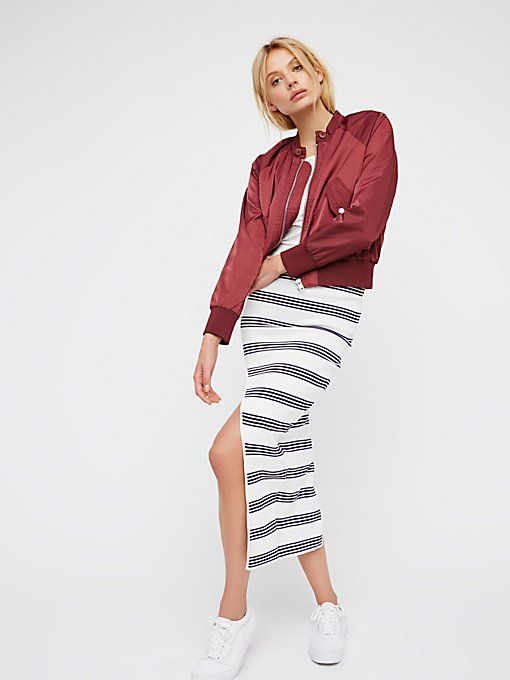 Product Image: My Selfish Heart Stripe Skirt