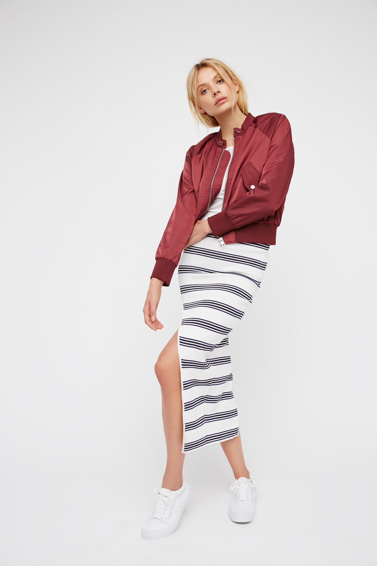 My Selfish Heart Stripe Skirt