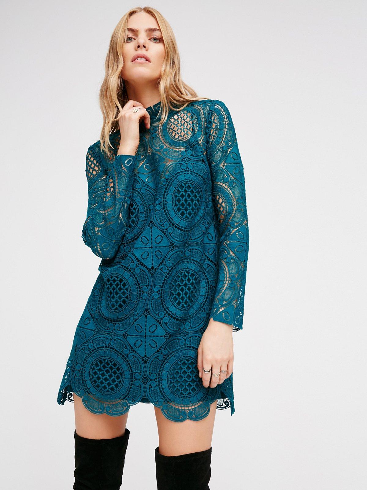 Ibiza Lace Dress