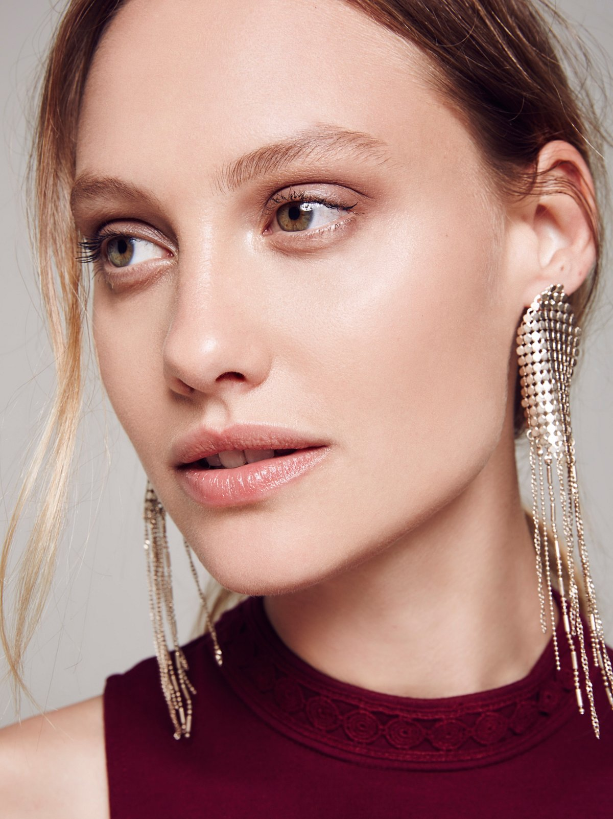 Save the Night Chainmail Earring