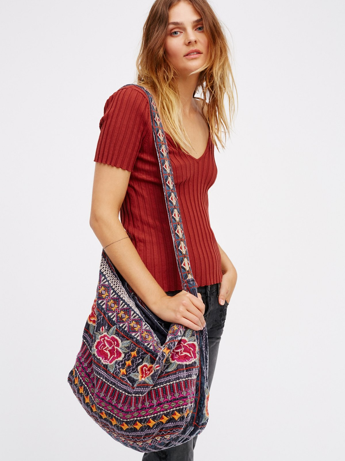 Velvet Bloom Tote
