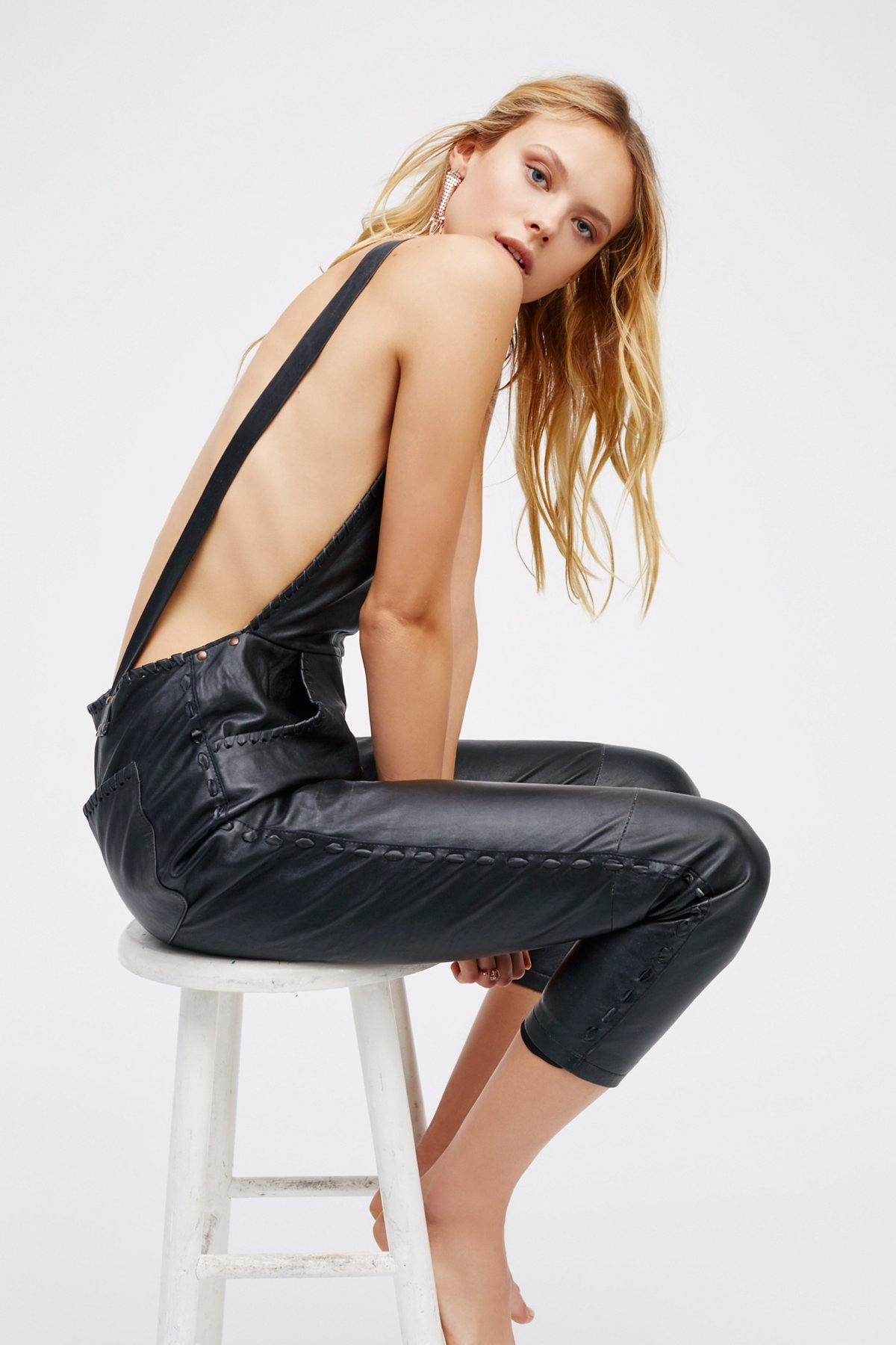 Lilah Leather One Piece