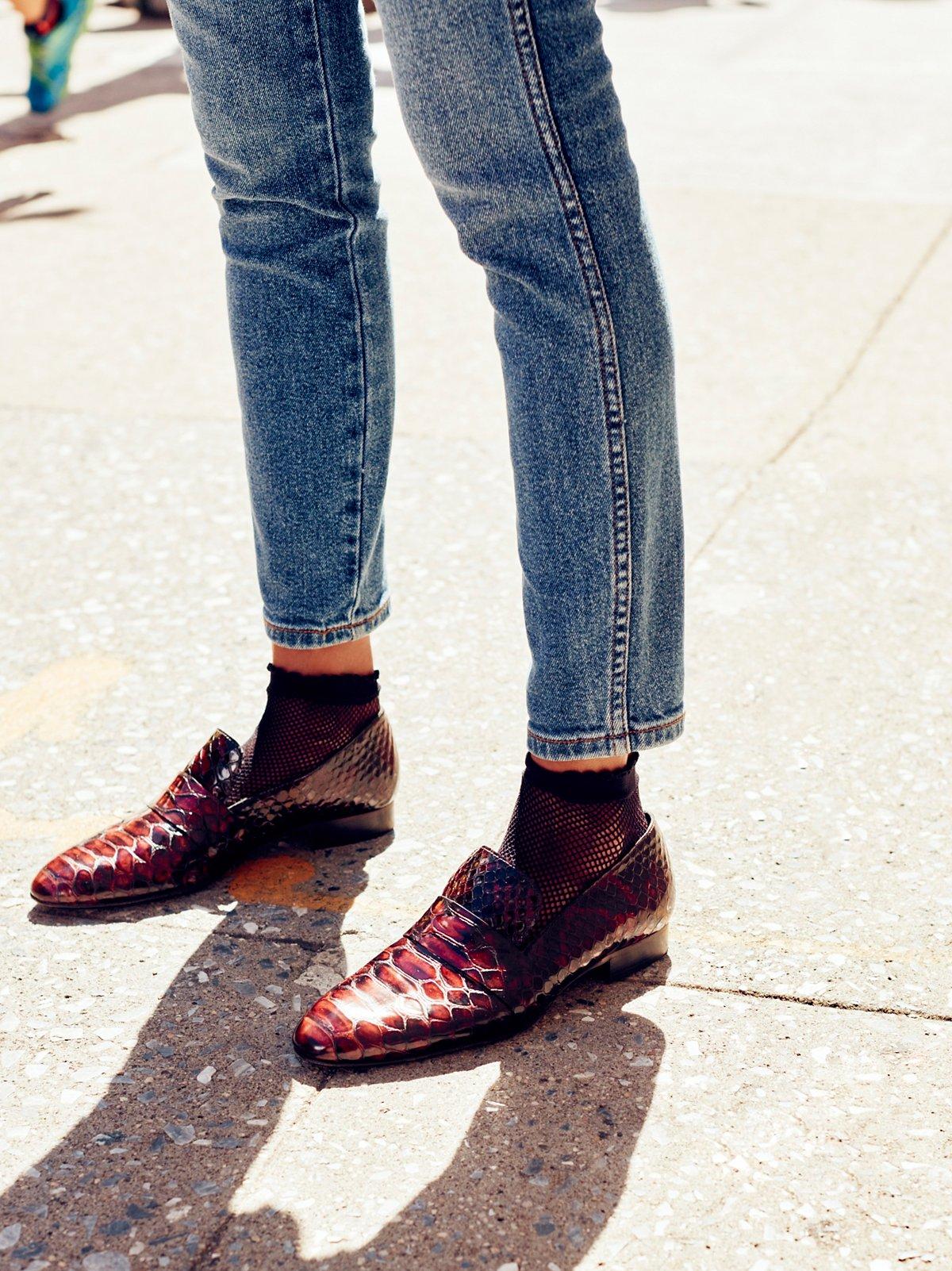 Tux Slip On Menswear Flats