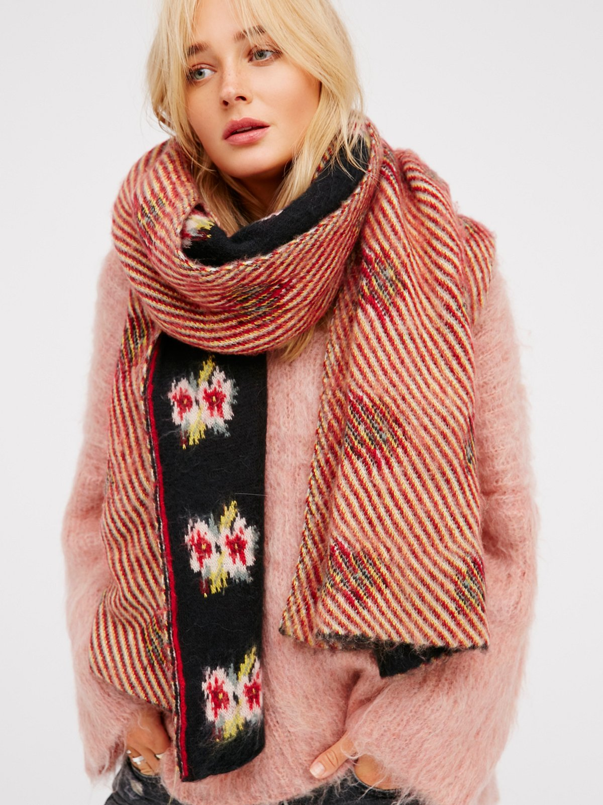 Woodside Bloom Brushed Scarf