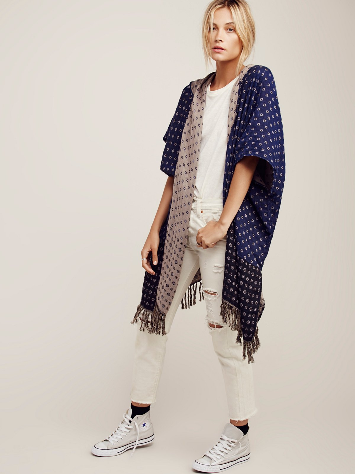 Time After Time Hooded Kimono