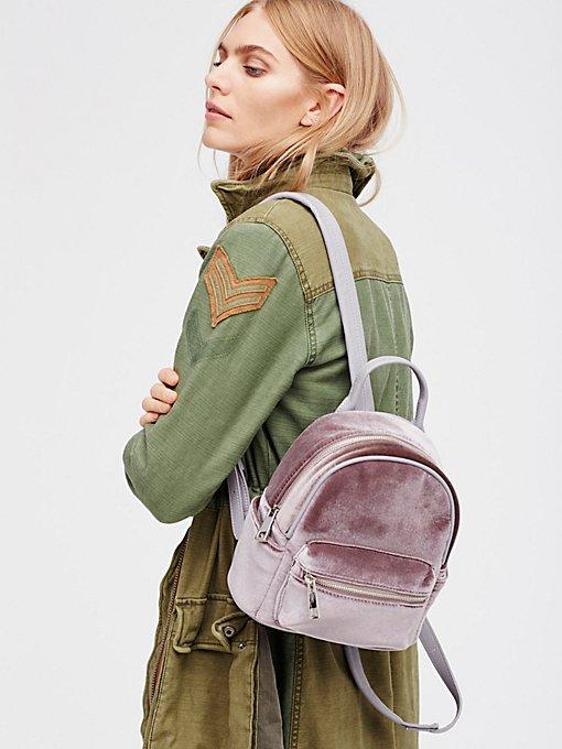 Product Image: Night Fever Velvet Backpack