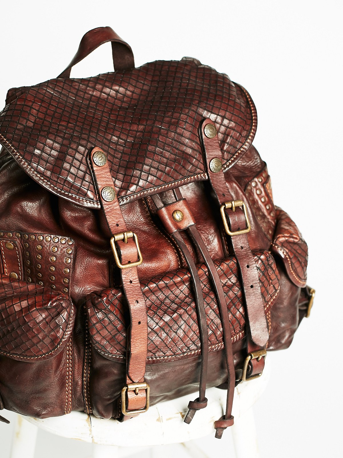 Sorrento Leather Backpack