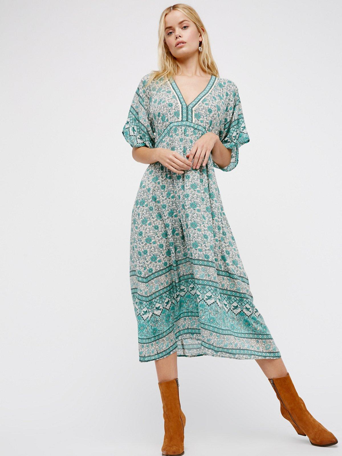 Kombi Folk Dress