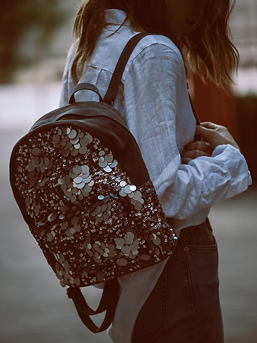 Product Image: Olympia Sequined Backpack