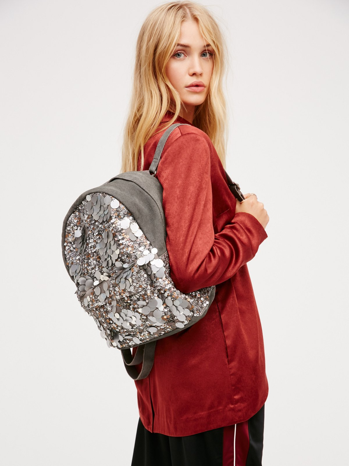 Olympia Sequined Backpack