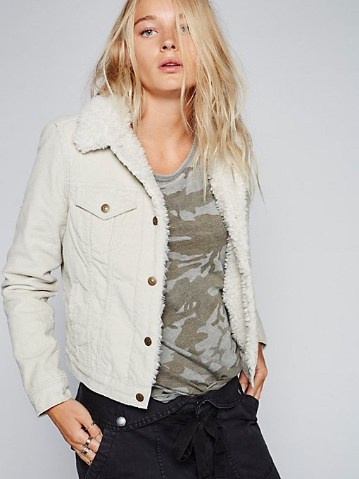 Product Image: Trucker Silver Lining Cord Jacket