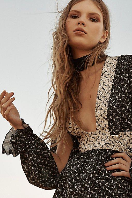 Product Image: Daisy Spray Paint Maxi Dress