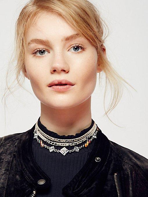 Product Image: Luna装饰缠绕式皮革颈链