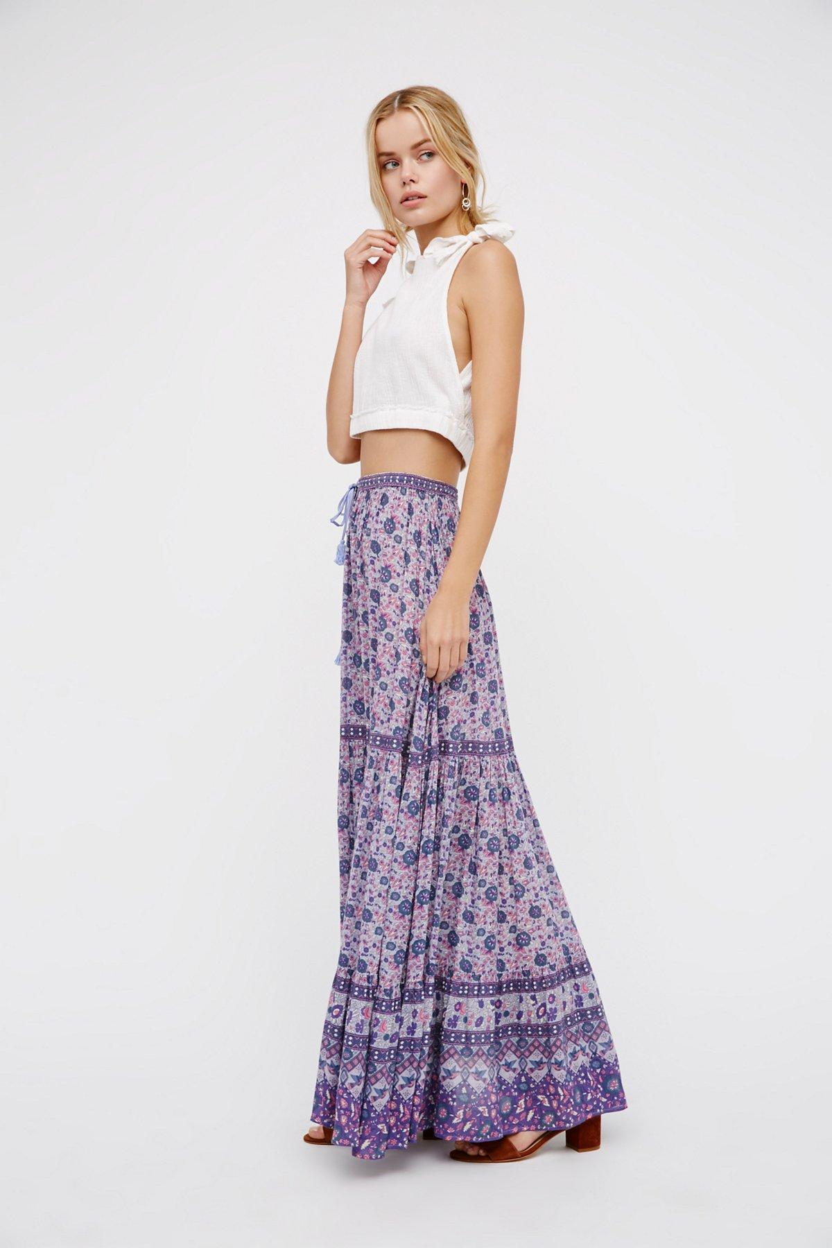 Kombi Buttondown Maxi Skirt