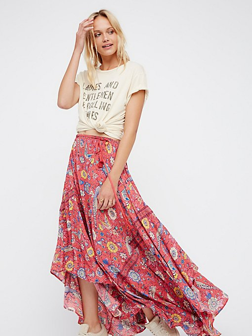 Product Image: Lovebird Half Moon Maxi Skirt