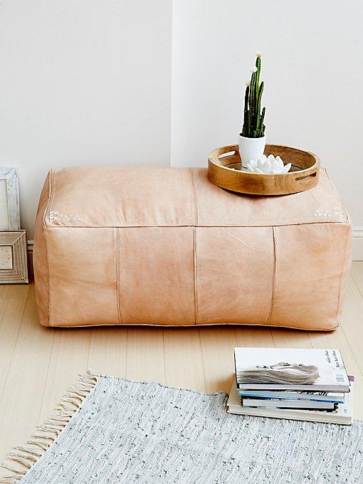 Product Image: Large Rectangle Pouf