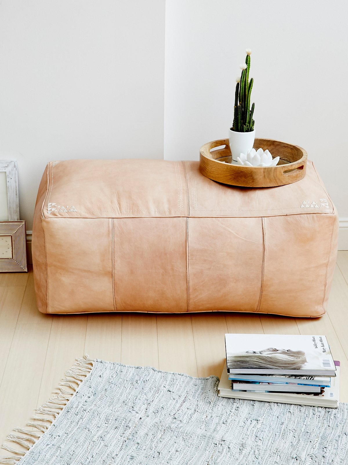 Large Rectangle Pouf