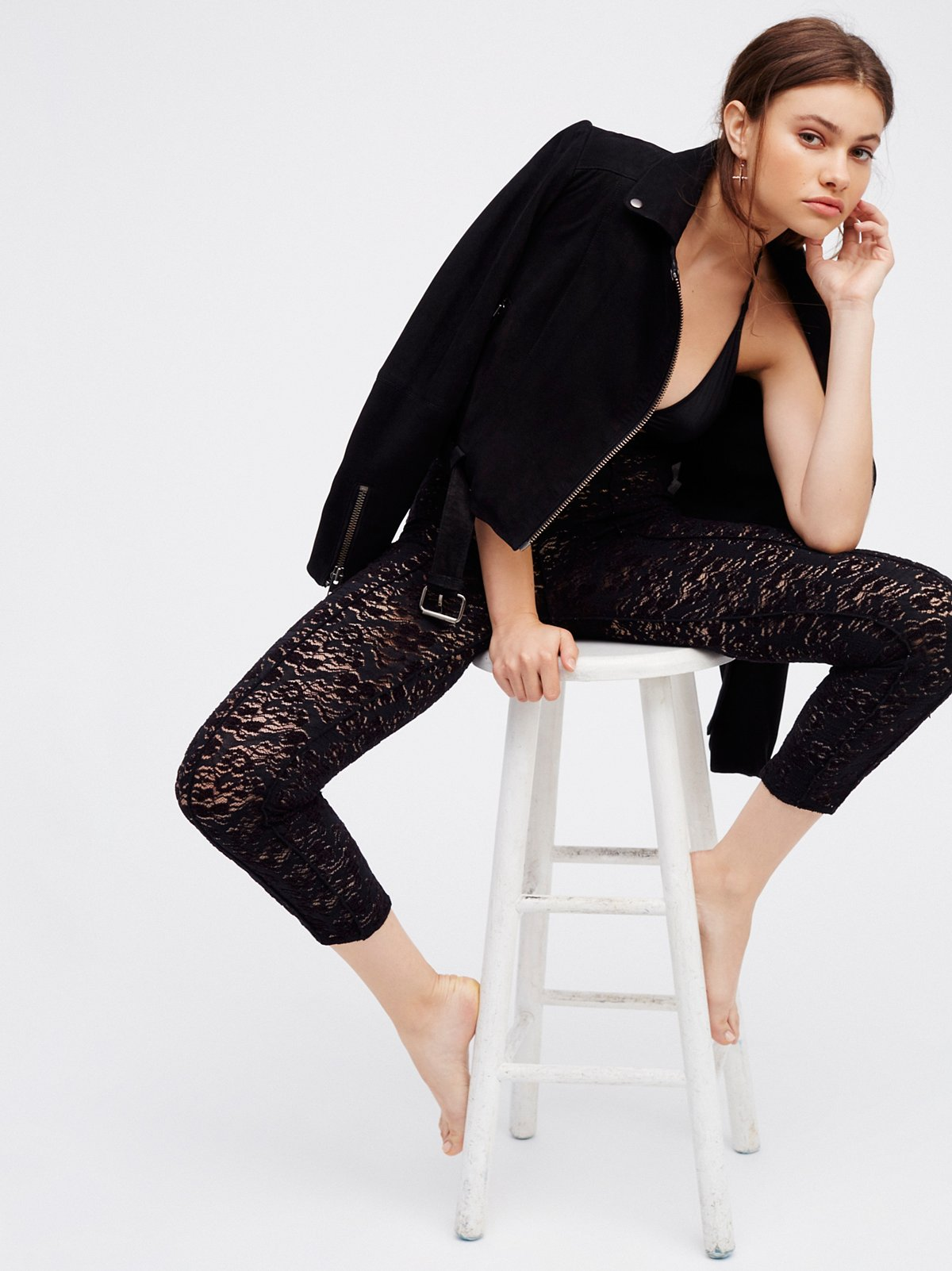 Not Just A Lace Legging