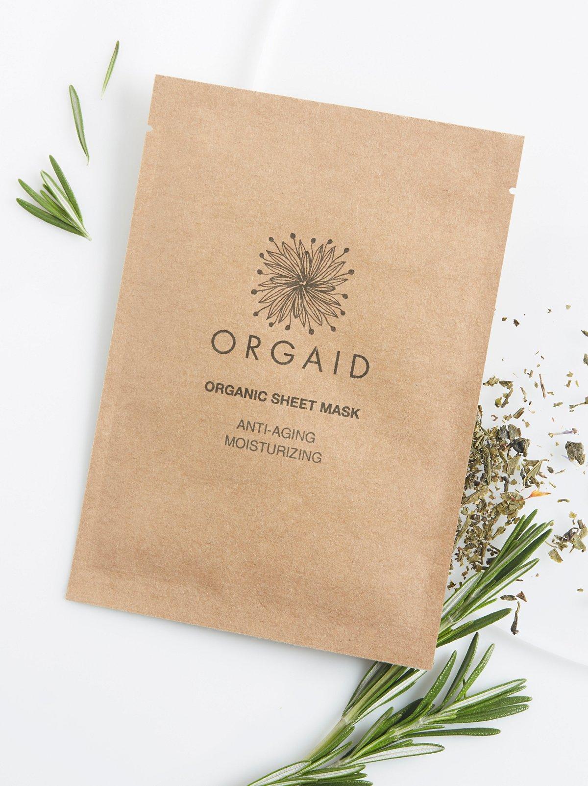 Antiaging & Moisturizing Organic Mask