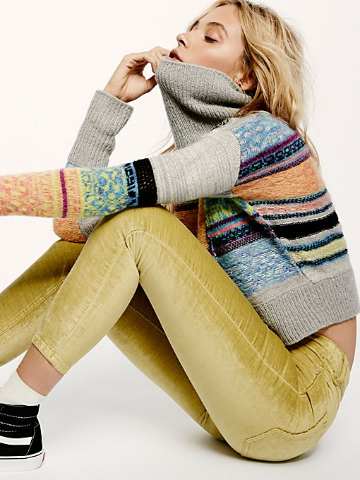 Product Image: Cyndi Velvet Skinny