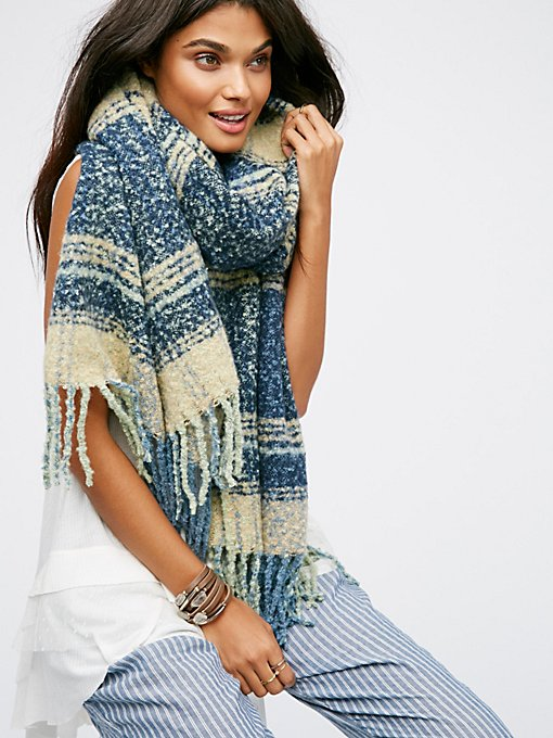 Product Image: Loveland Plaid Fringe Scarf