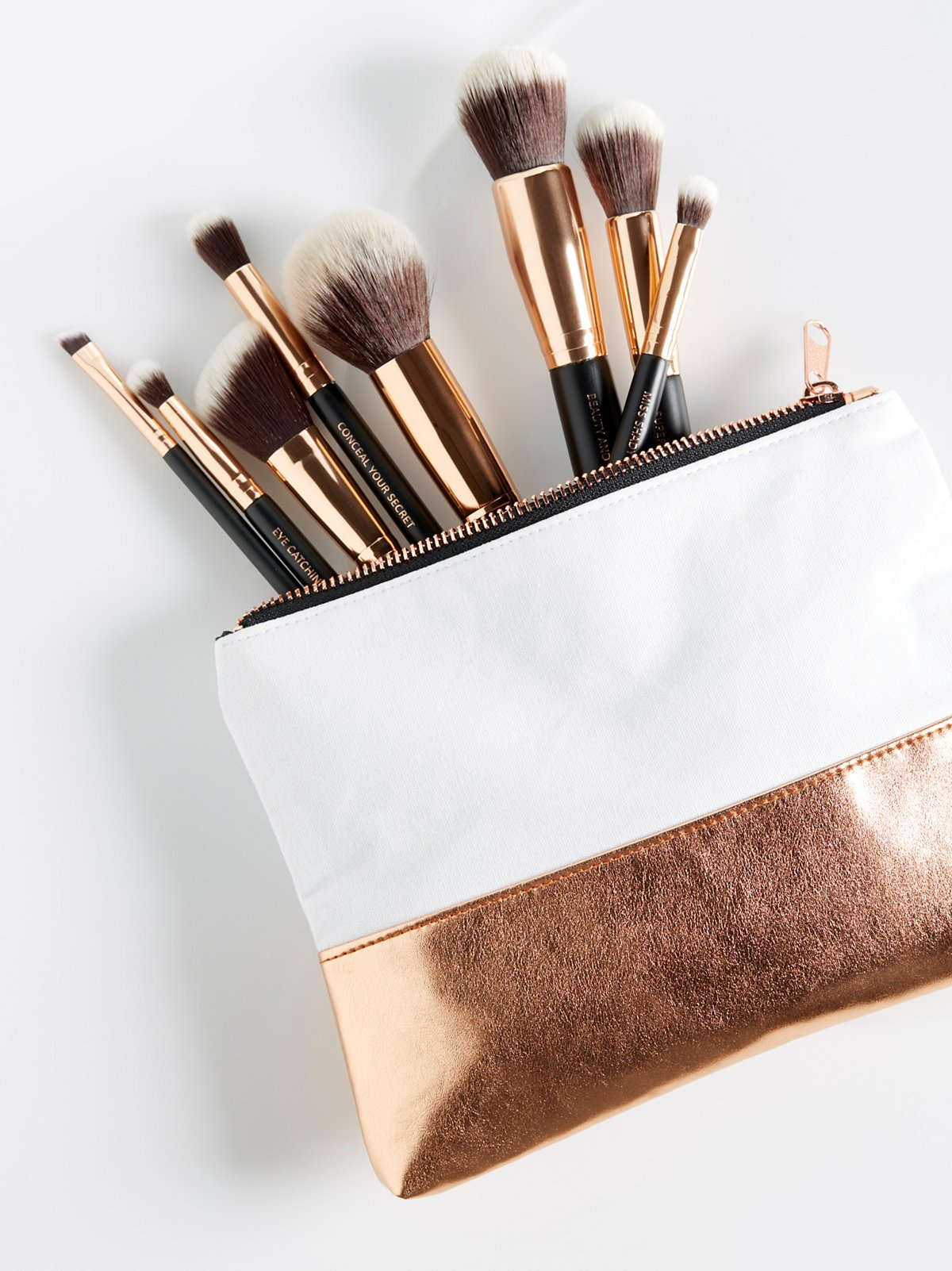 Lux Vegan Essential Brush Set