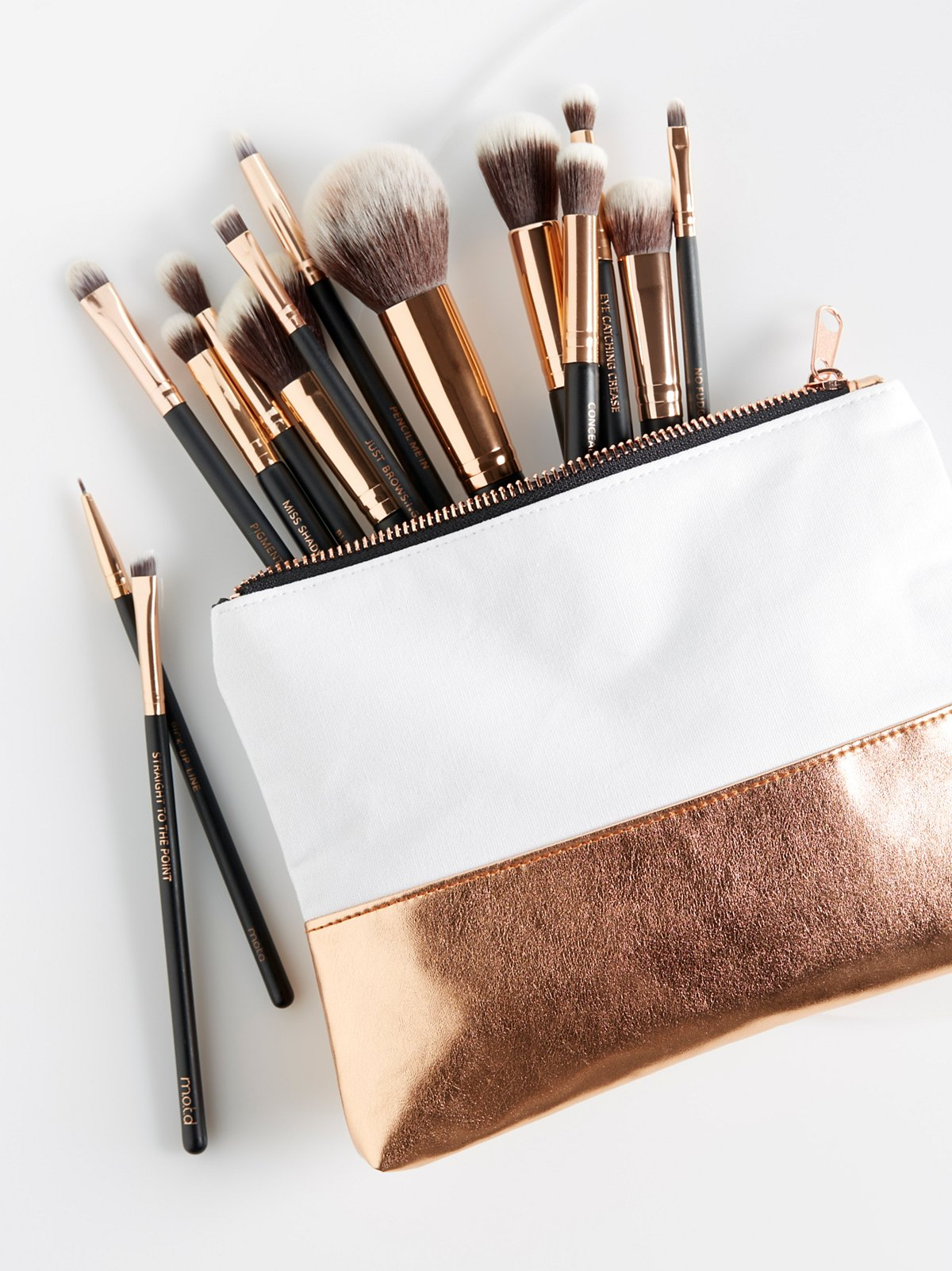 Lux Vegan Complete Brush Set
