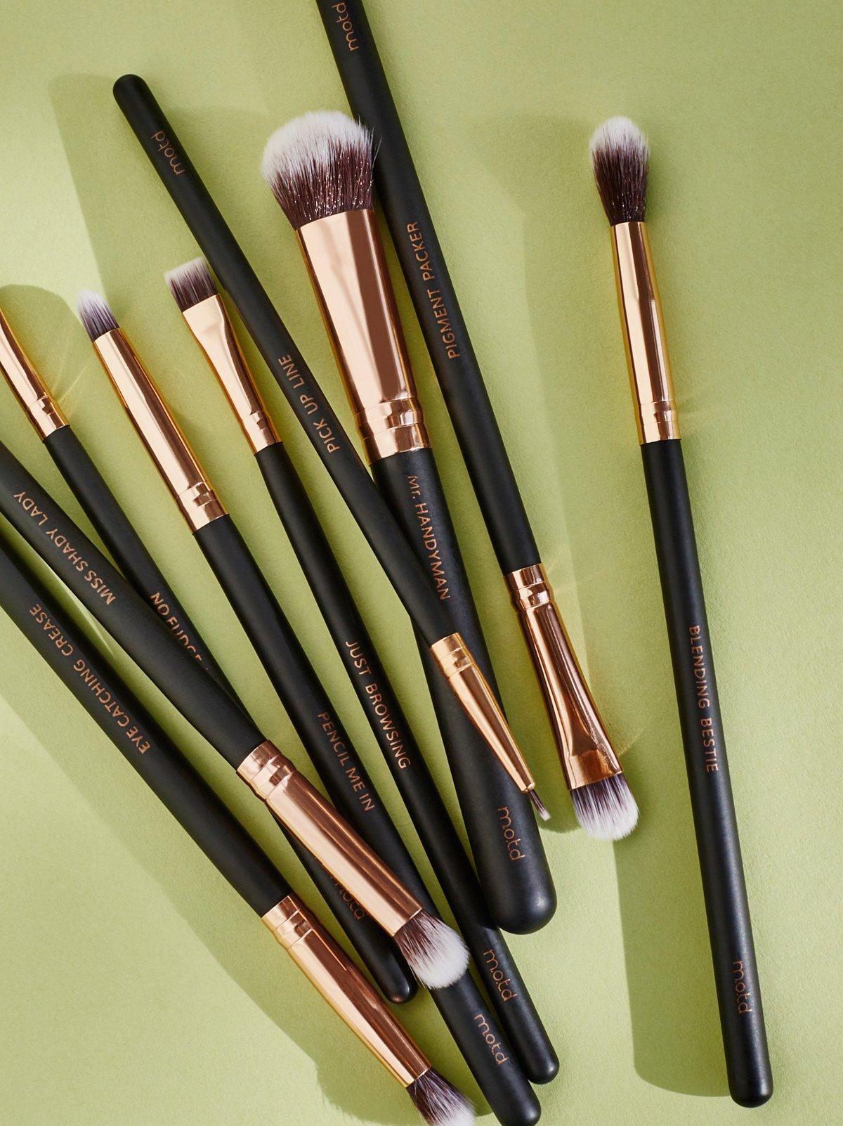 Vegan Eye Makeup Brush Set