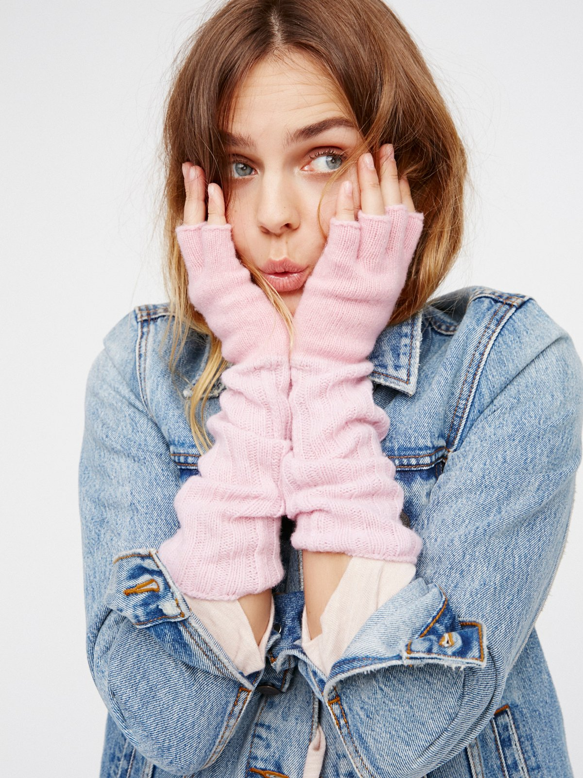 Downtown罗纹手套