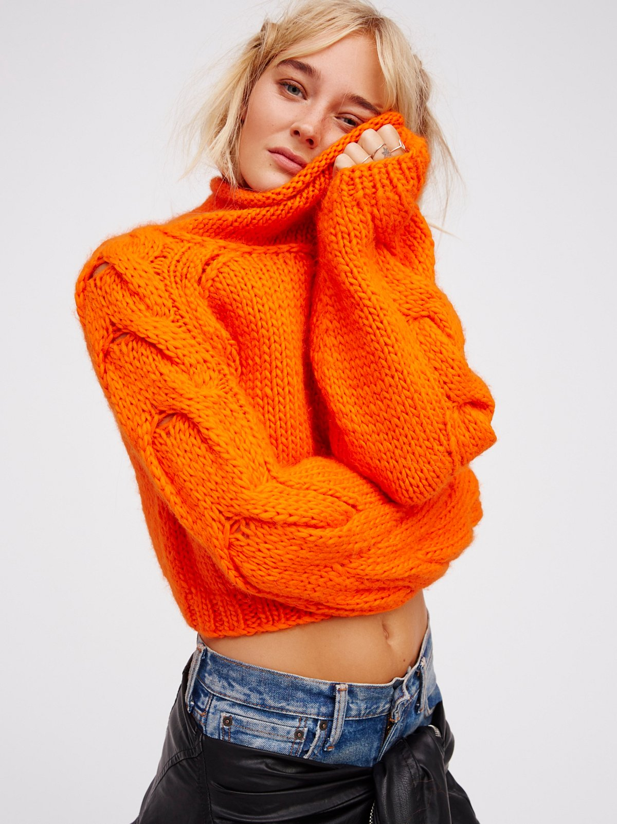 Florence Cable Pullover