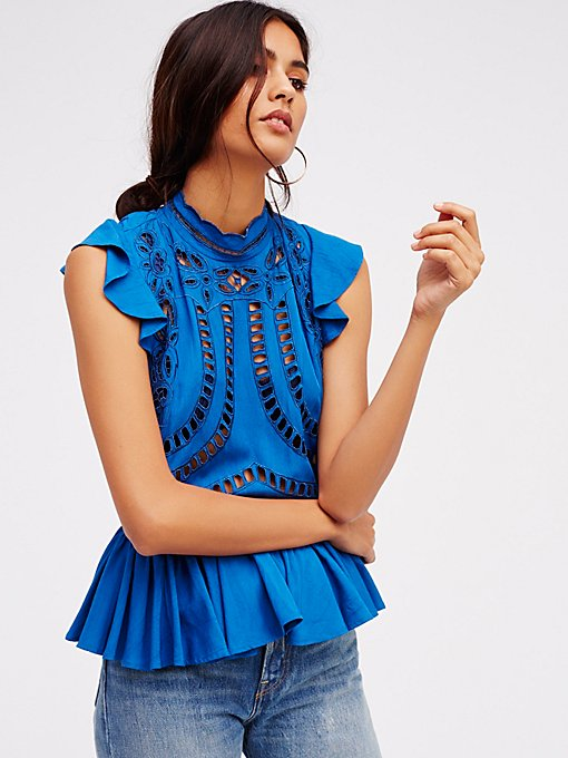 Product Image: In My Dreams Cutwork Top