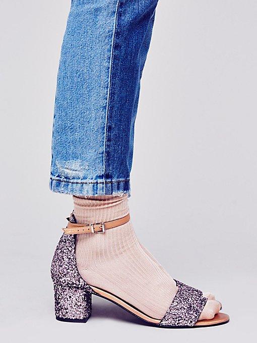 Product Image: Glitter Marigold Block Heel