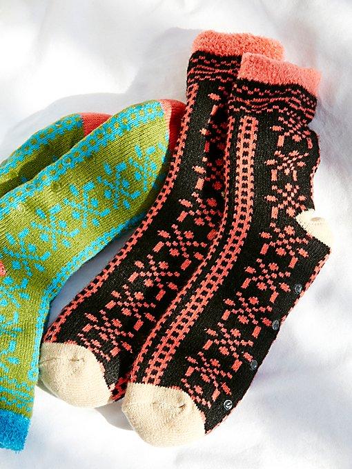 Product Image: Gone West Slipper Sock