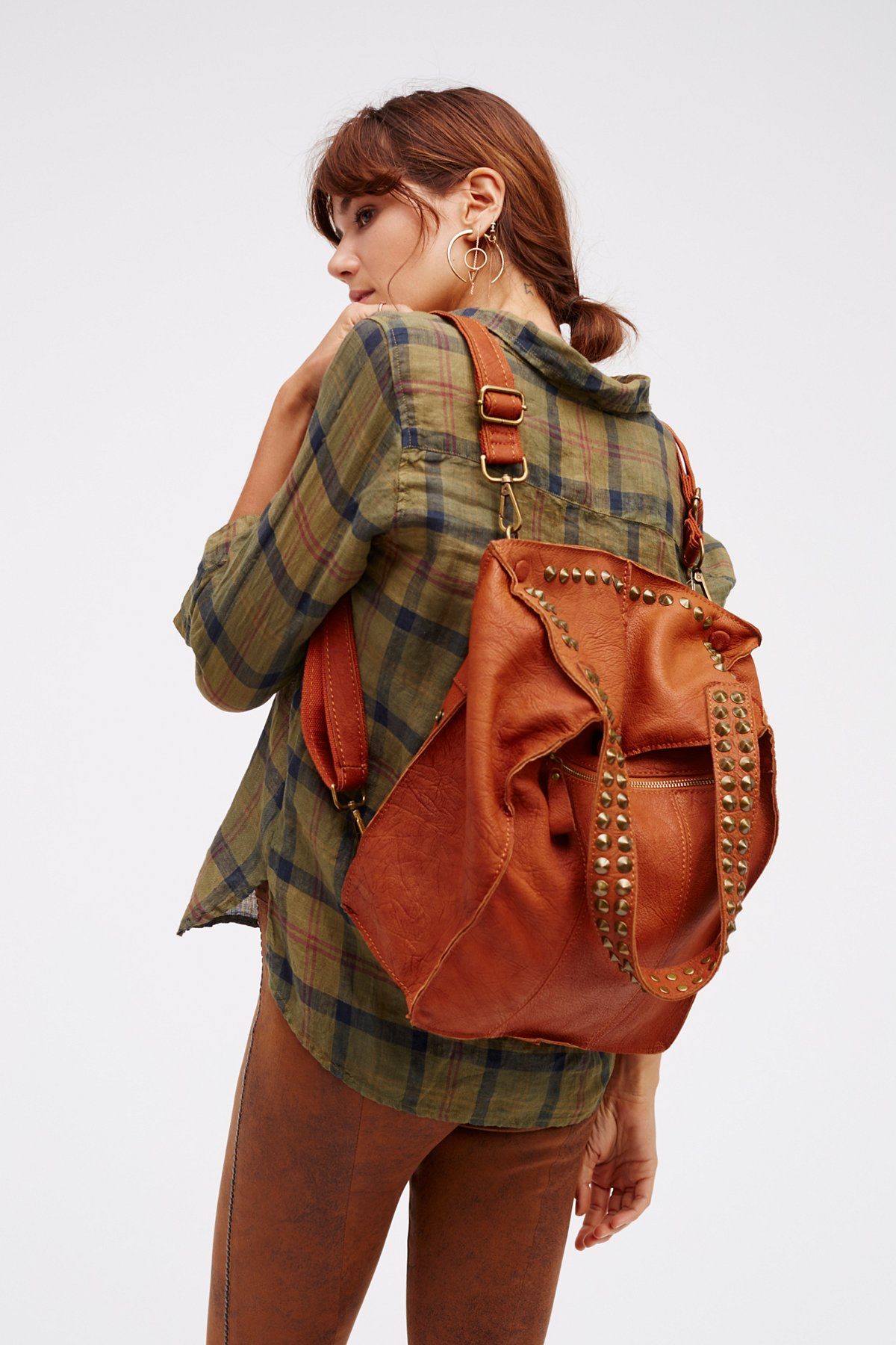 Utility Studded Backpack