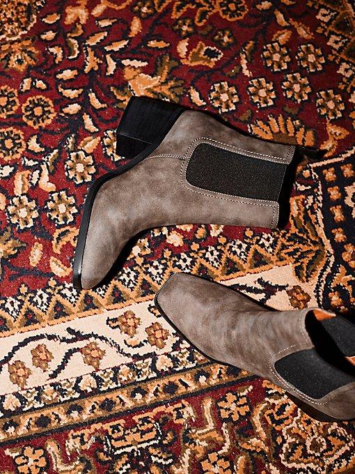 Product Image: 仿皮太平洋切尔西踝靴