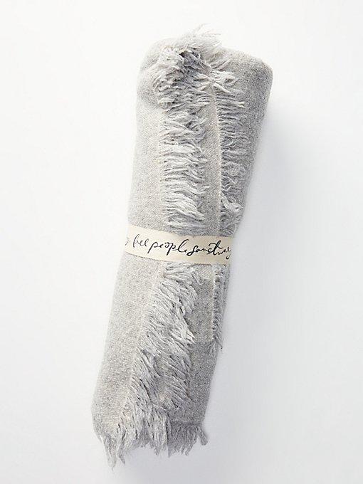 Product Image: Alpaca Fringed Blanket