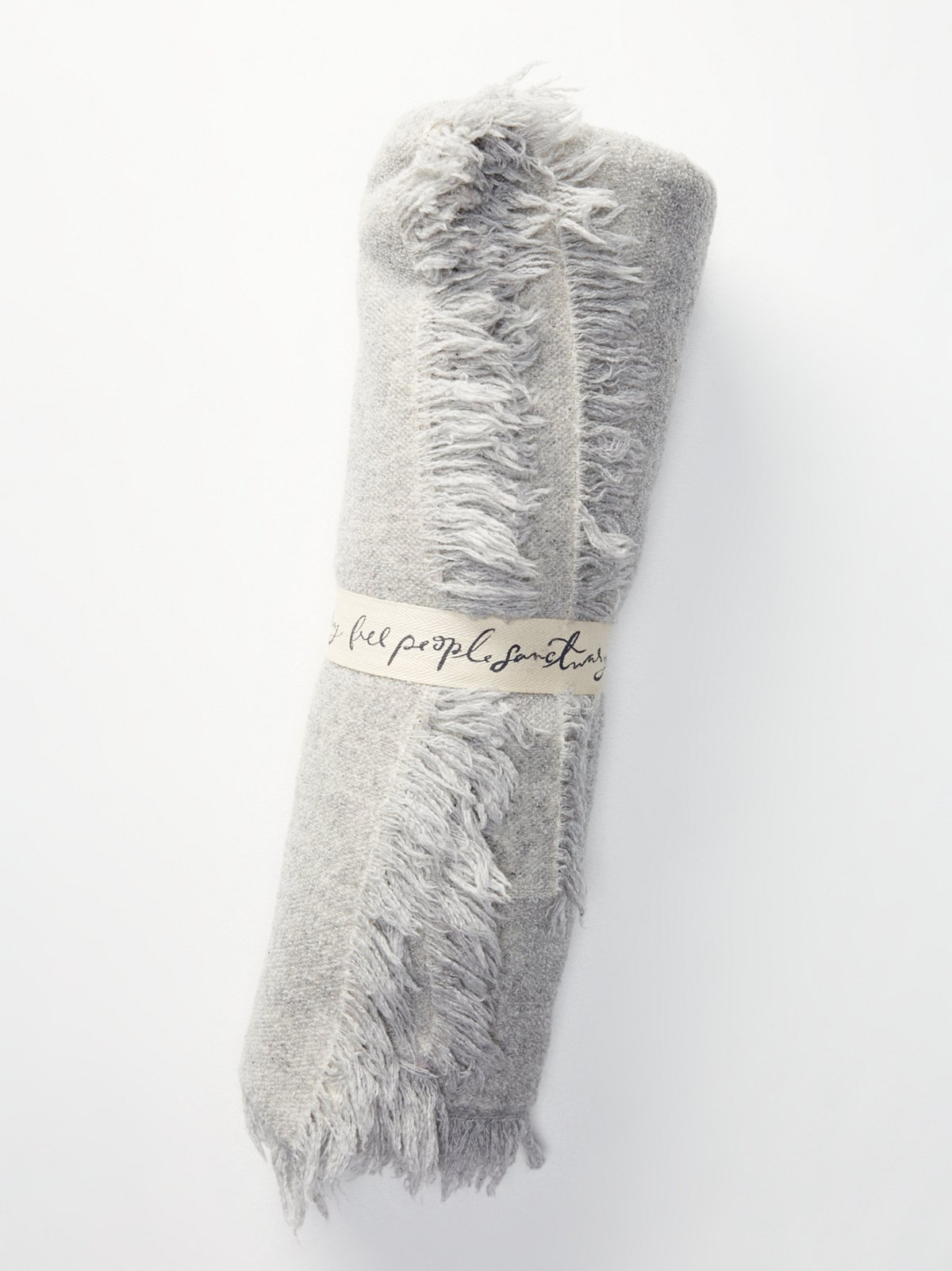 Alpaca Fringed Blanket
