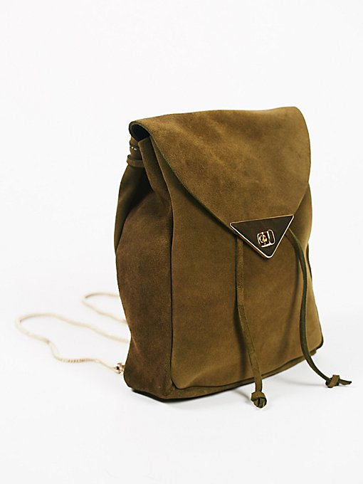 Product Image: Jess Suede Backpack