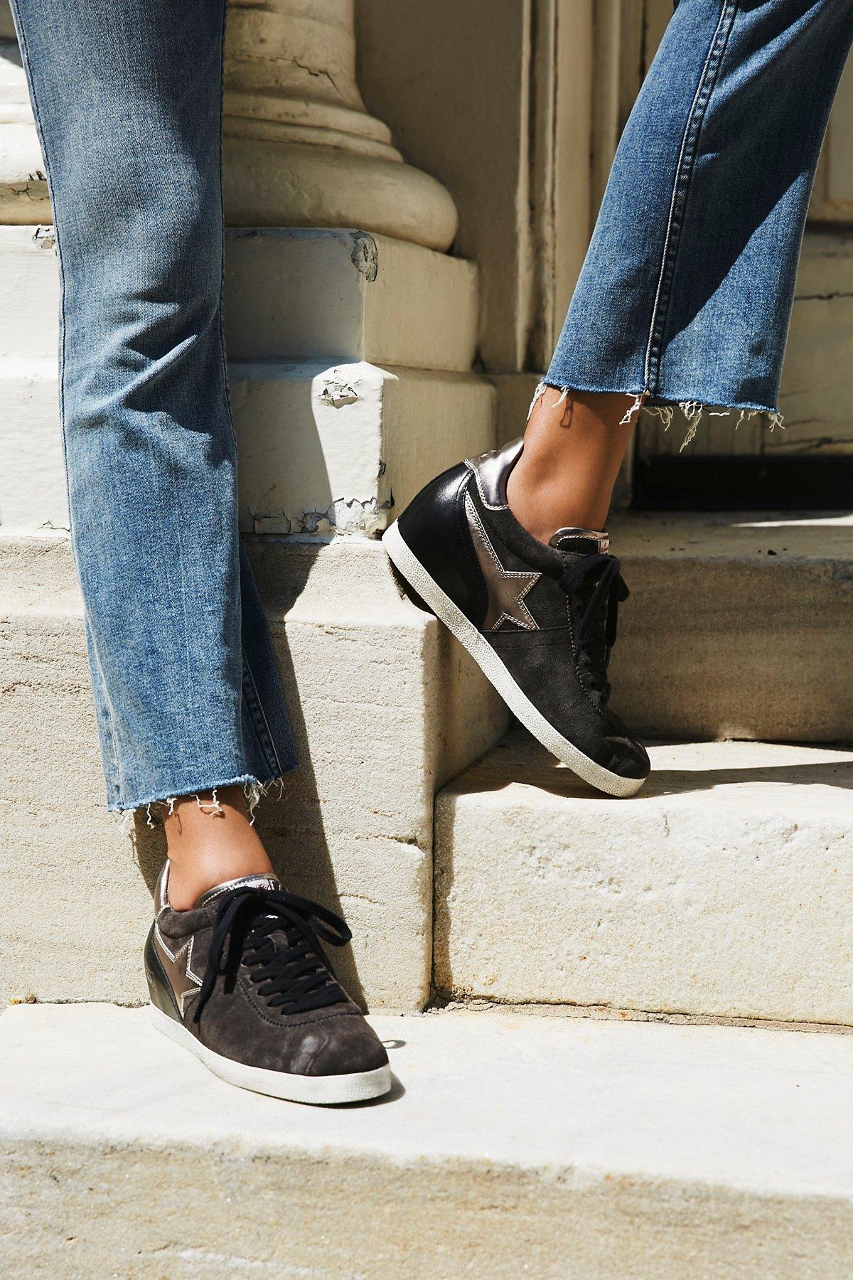 Guepard Bis Mini Wedge Sneaker