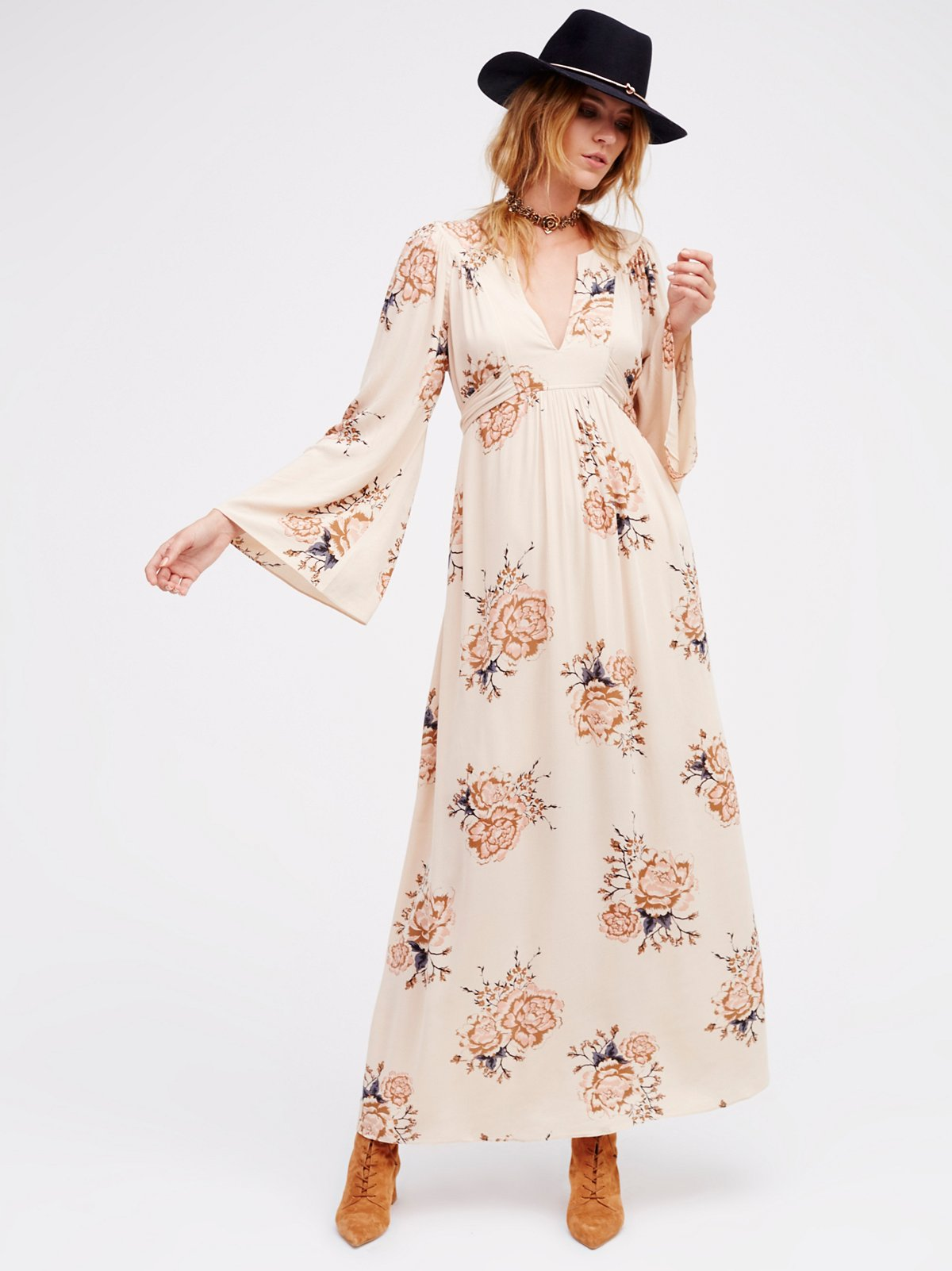 Wild Laurel Maxi Dress