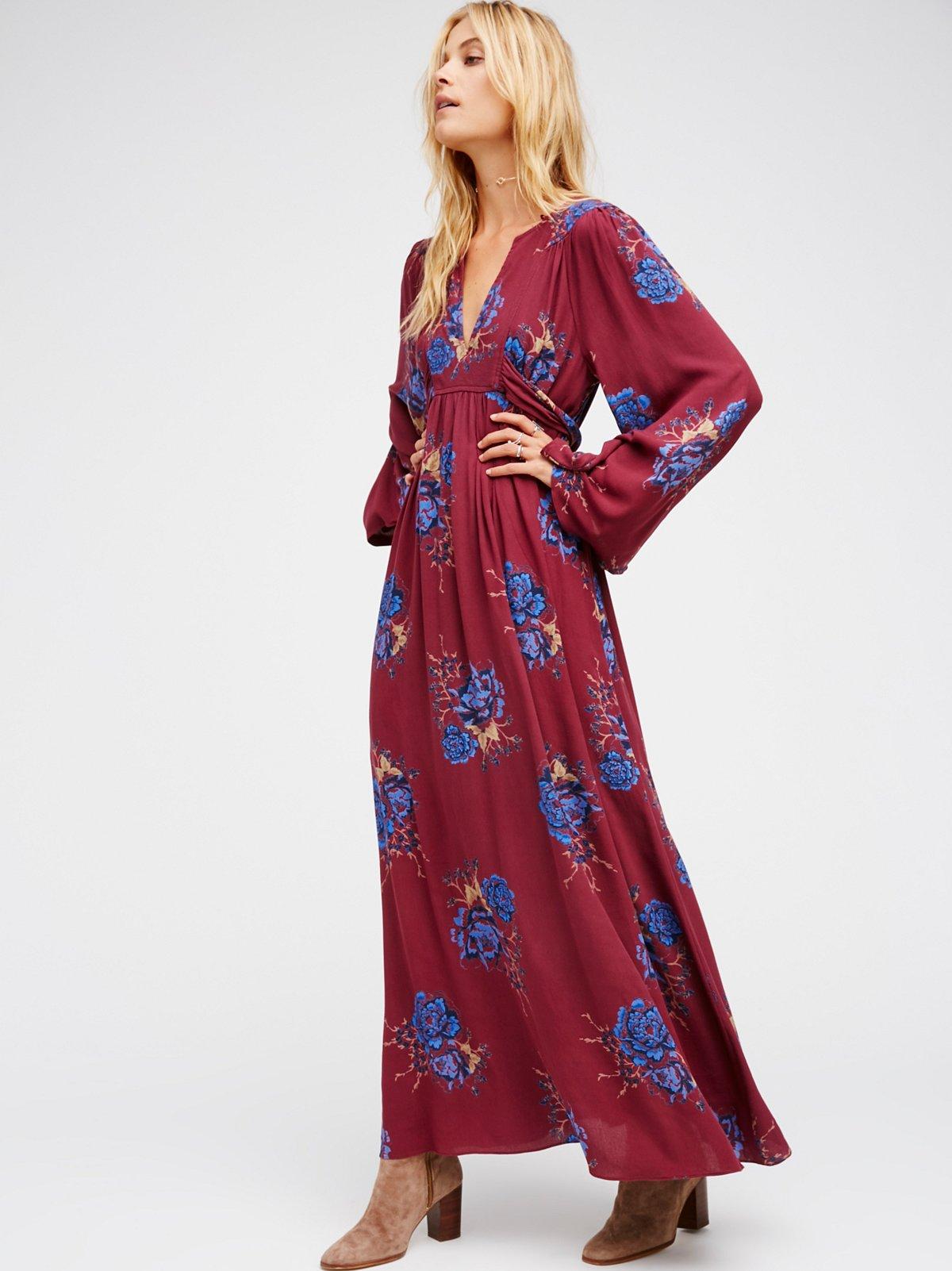 Wild Laurel Maxi Dress