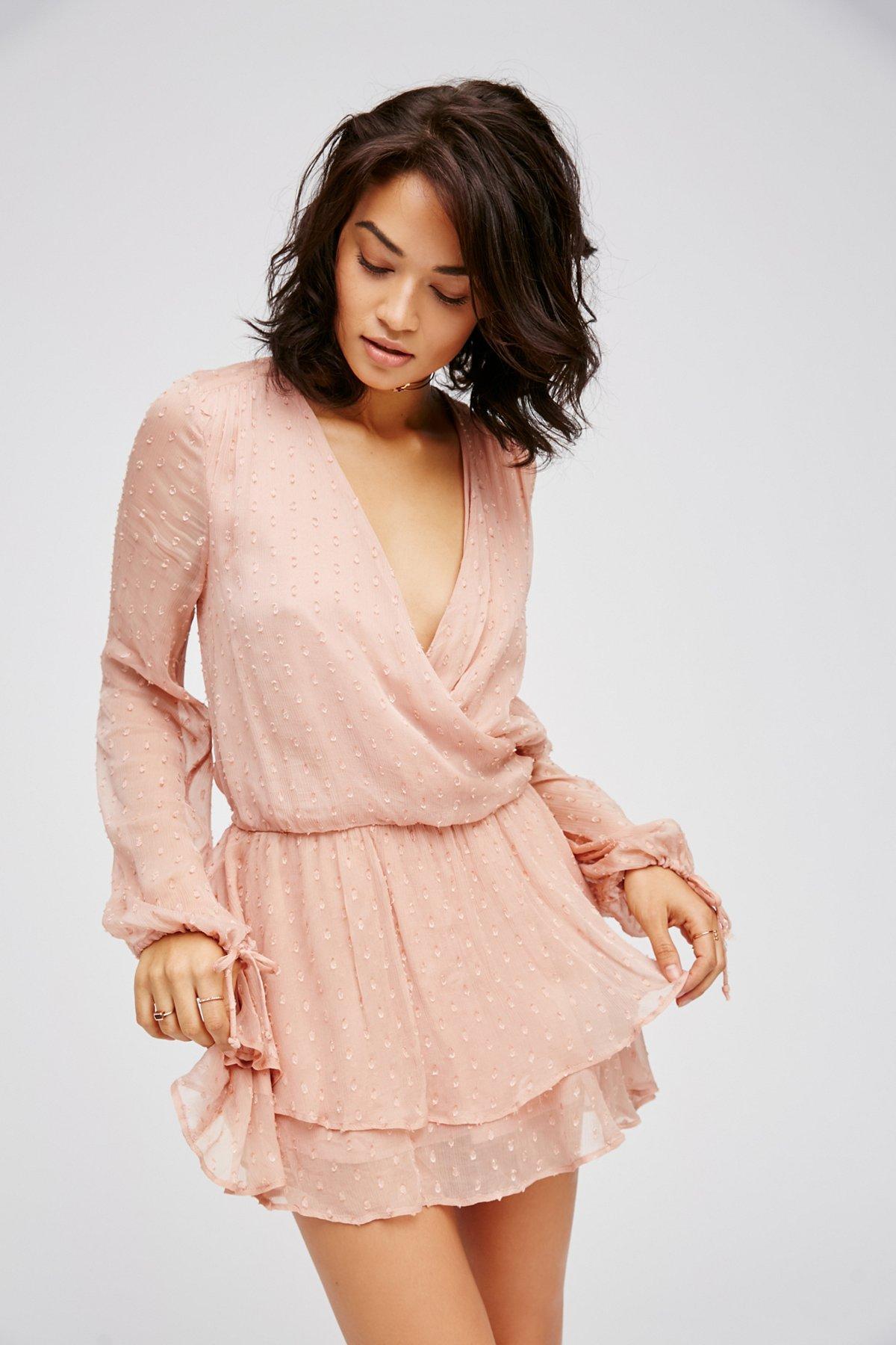 Daliah Dropwaist Mini Dress