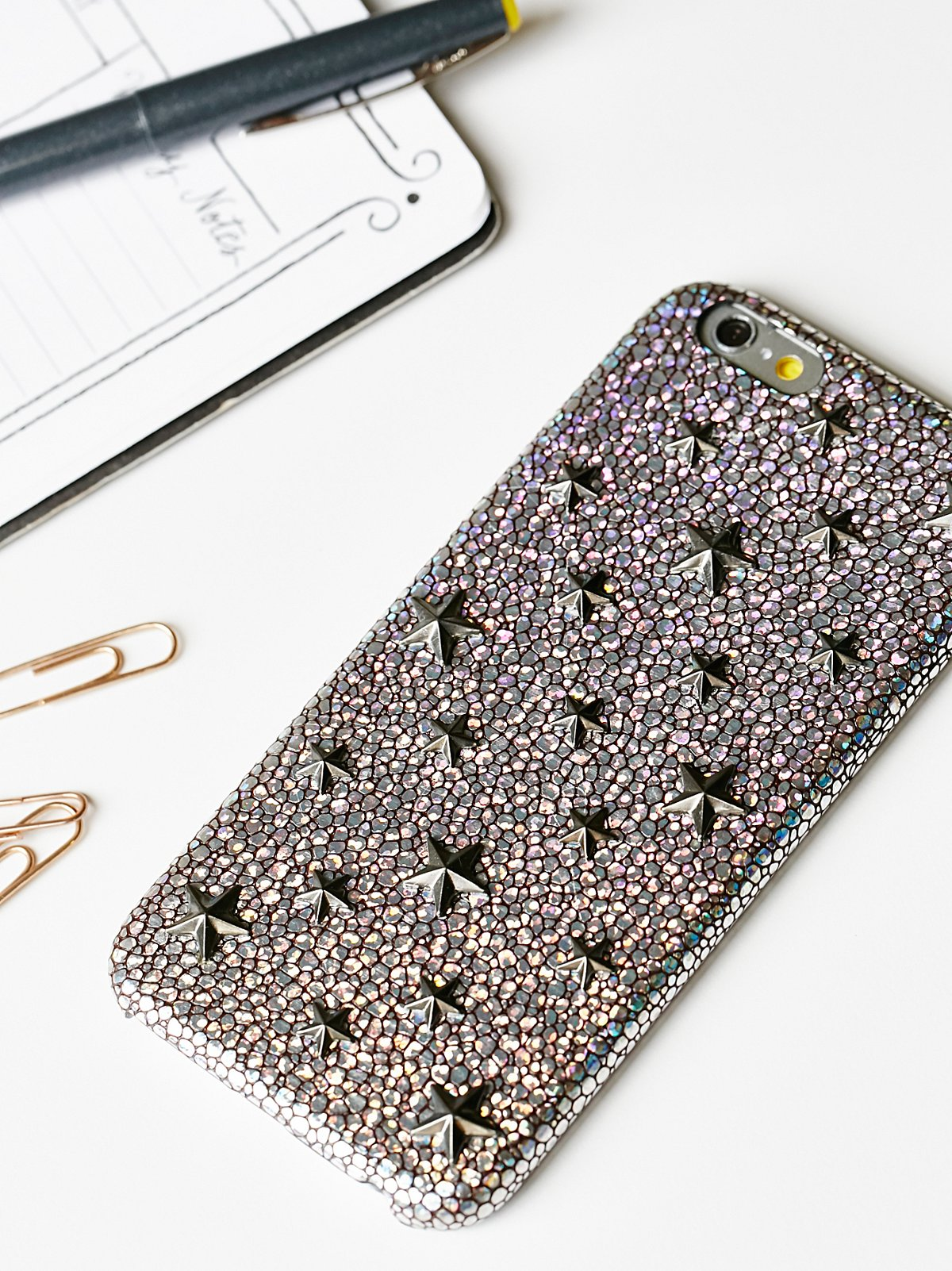 Holographic Star iPhone Case