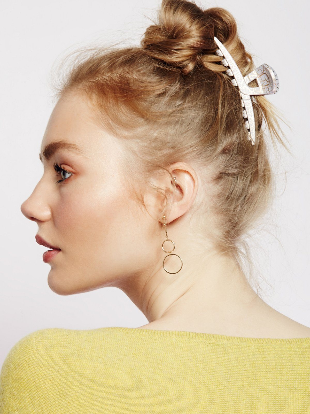 Crackle Hair Claw