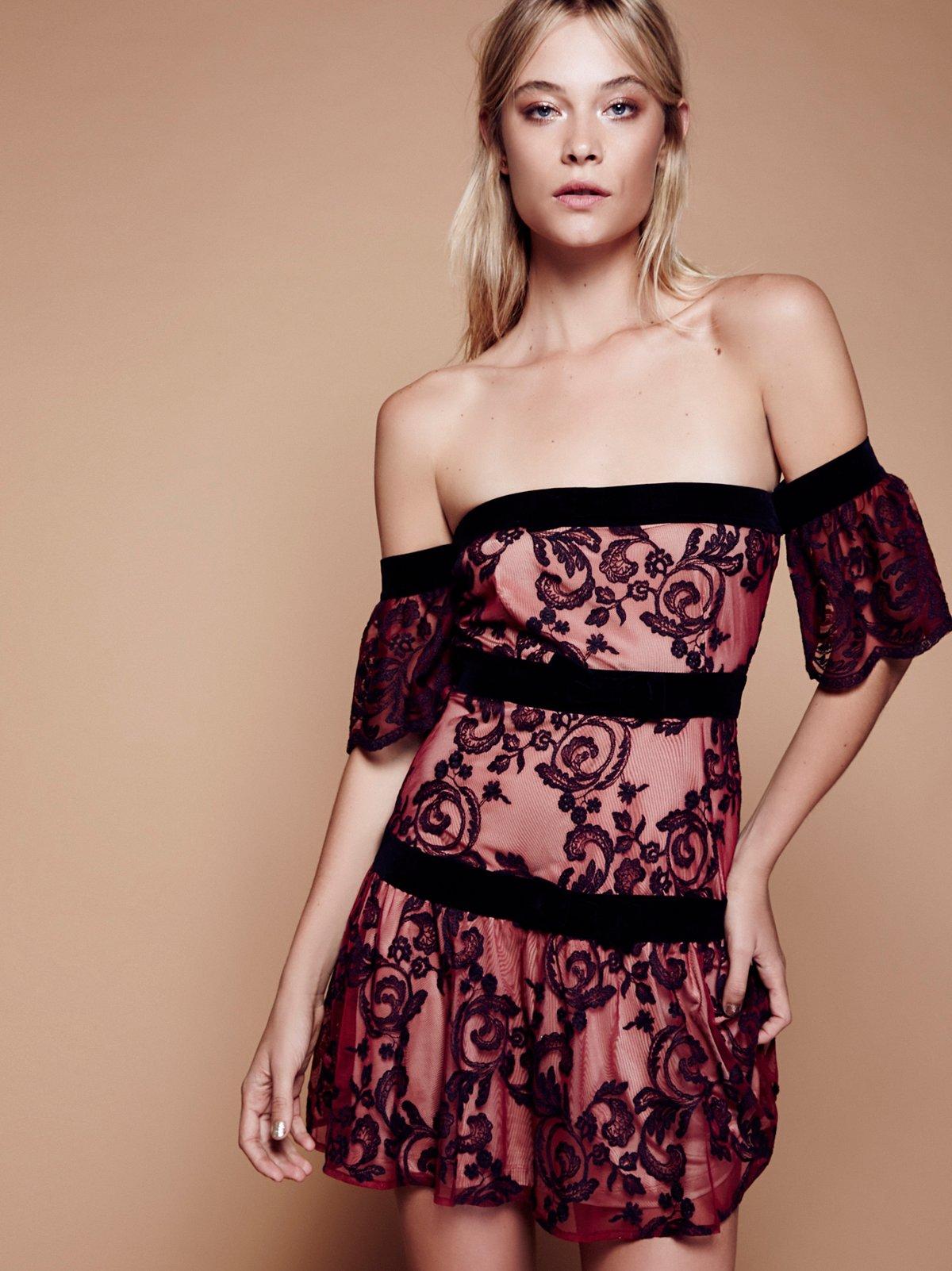 Clemence Off The Shoulder Dress