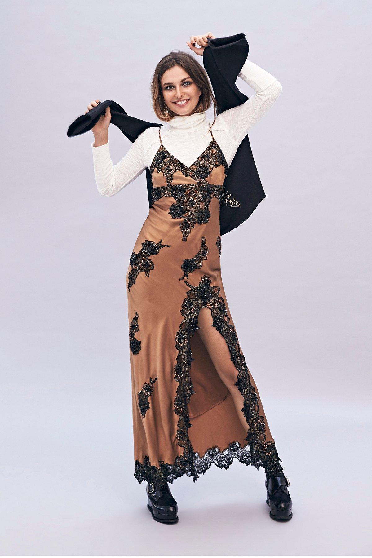 Candlelight Slip Maxi Dress