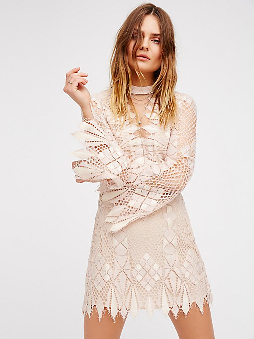 Product Image: Deco Lace Mini Dress