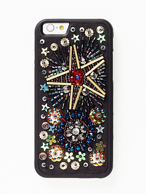Product Image: Fireworks Beaded iPhone Case