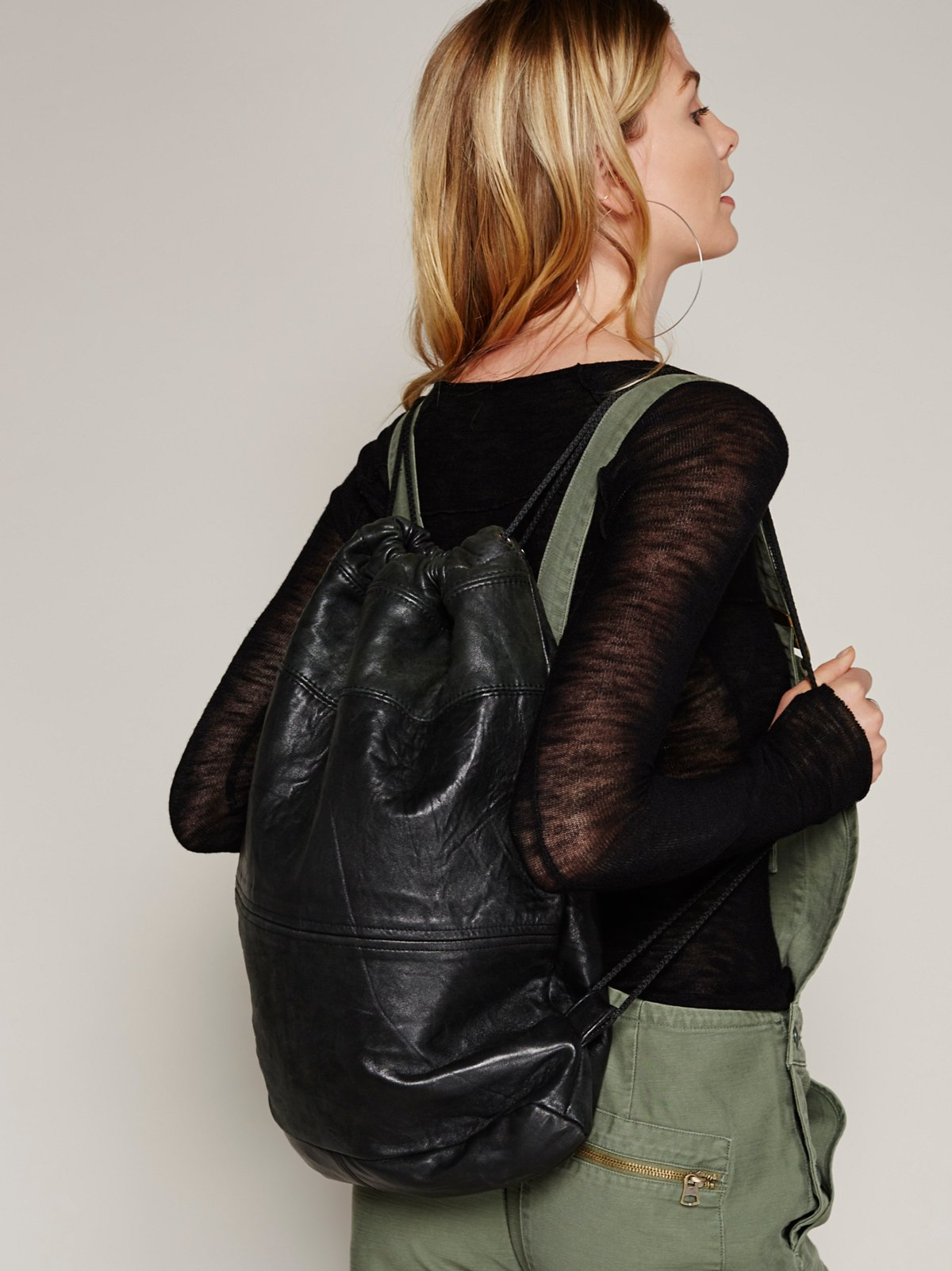 Phoenix Leather Backpack